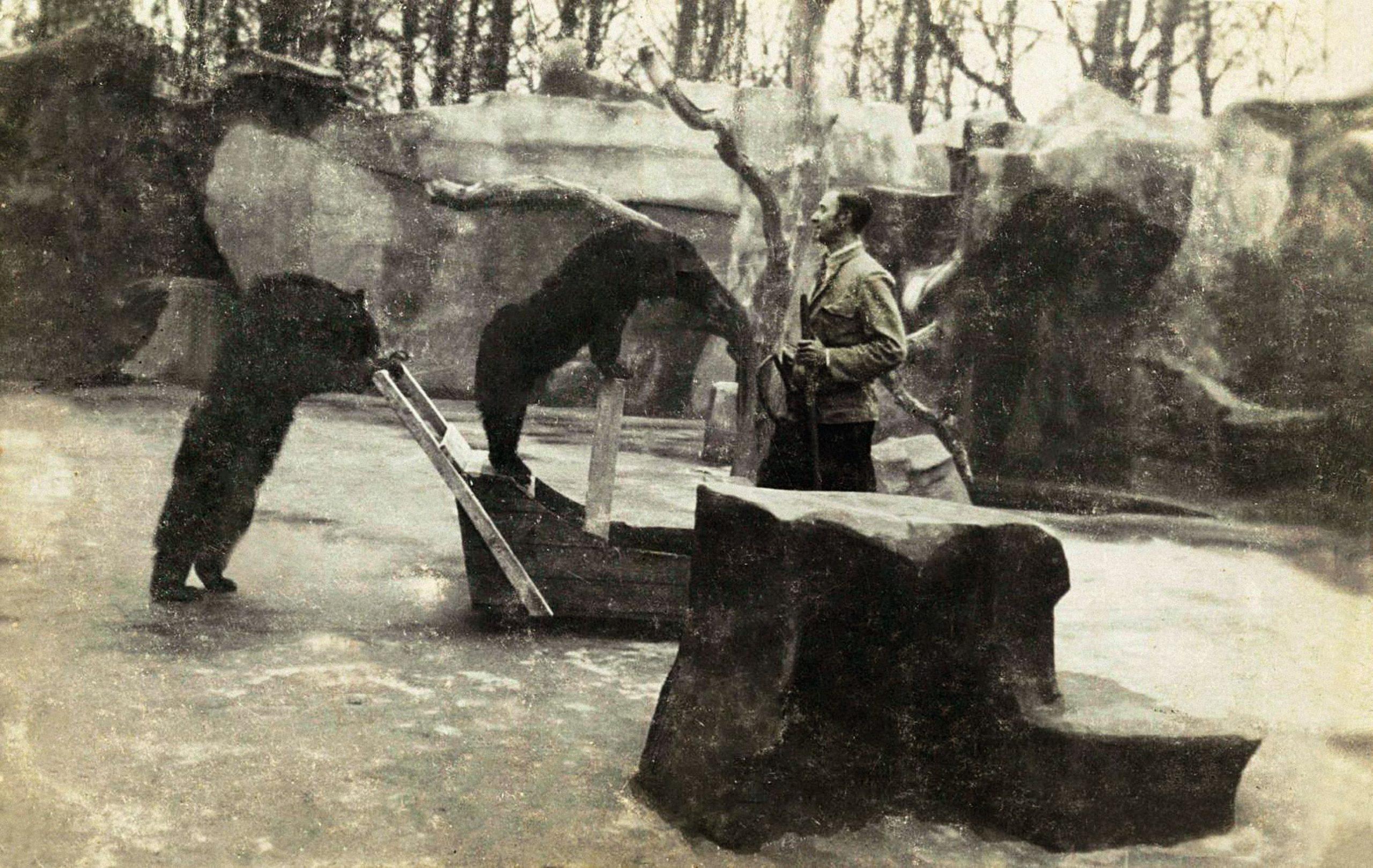 Carlo met beren Wassenaar_bew